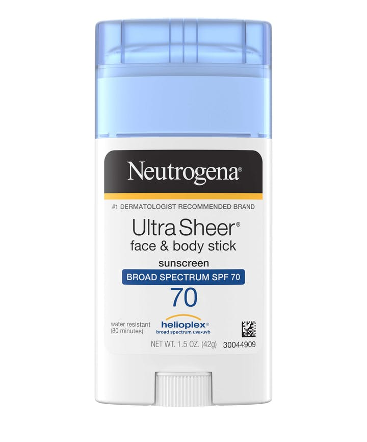 Neutrogena - Ultra Sheer® Face + Body Stick Sunscreen Broad Spectrum SPF 70