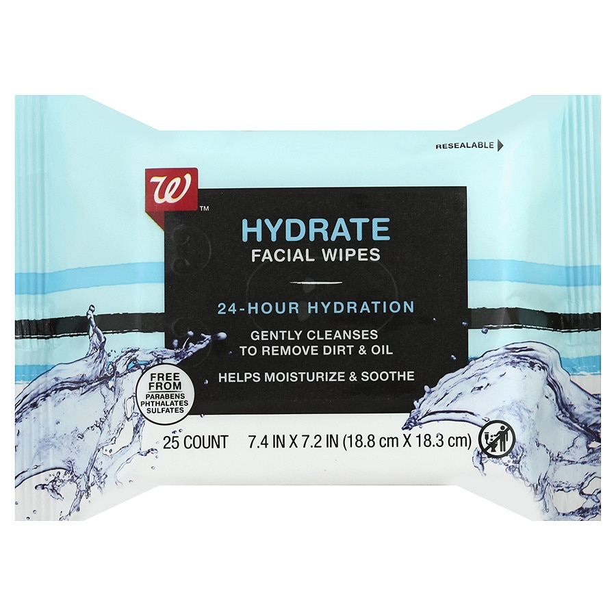 Walgreens - Walgreens Beauty Hydrating Facial Wipes25.0ea