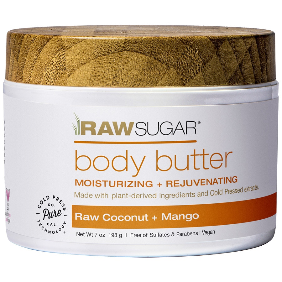 Raw Sugar Body Butter Raw Coconut + Mango