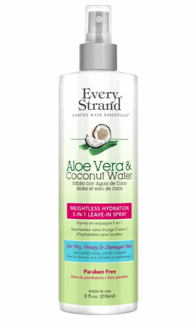 Every Strand - Every Strand Aloe Vera & Coconut Water Weightless Hydration 5-In-1 Leave-In Spray 8 oz