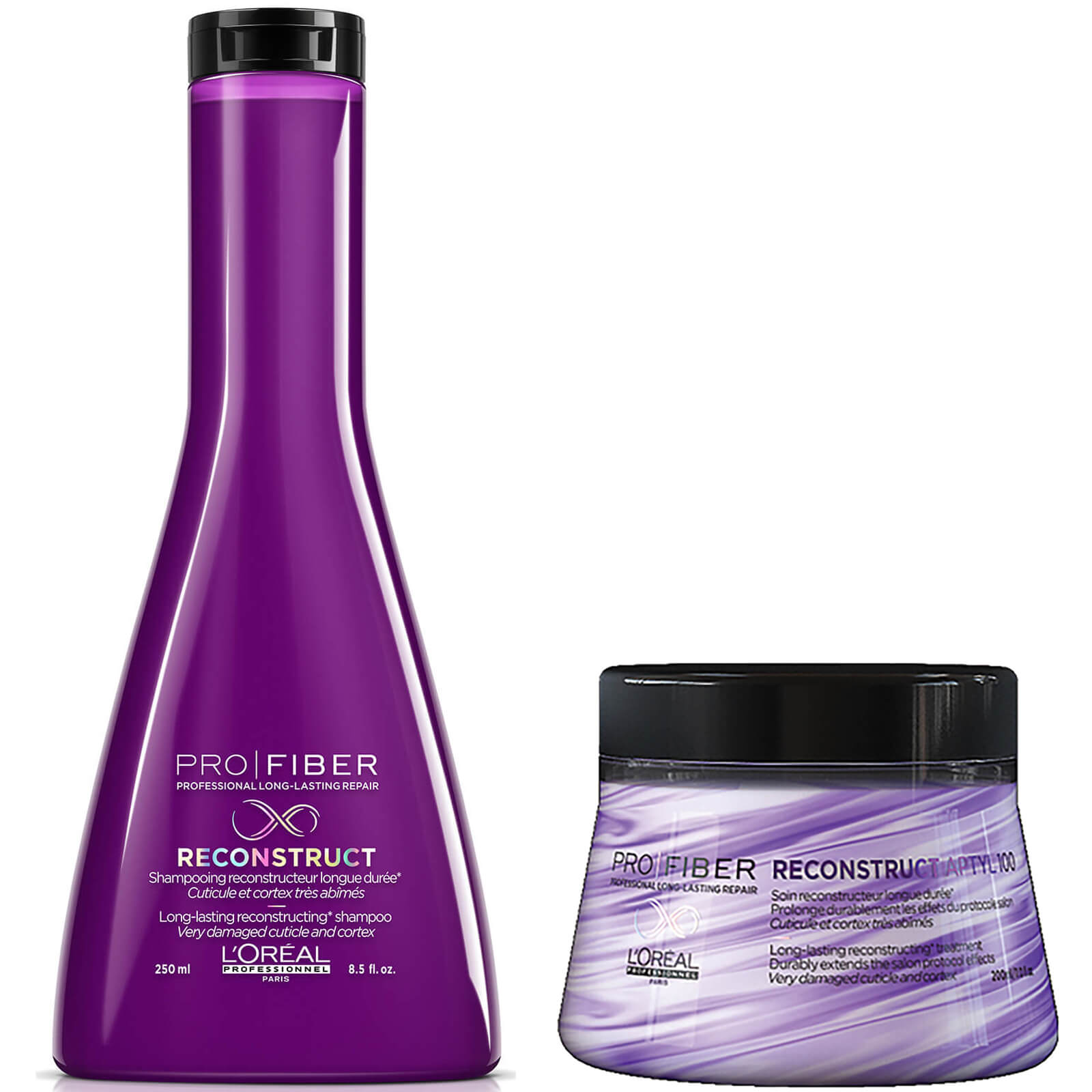 L'Oreal Paris - L'Oreal Professionnel Pro Fiber Reconstruct Very Damaged Hair Shampoo 250ml