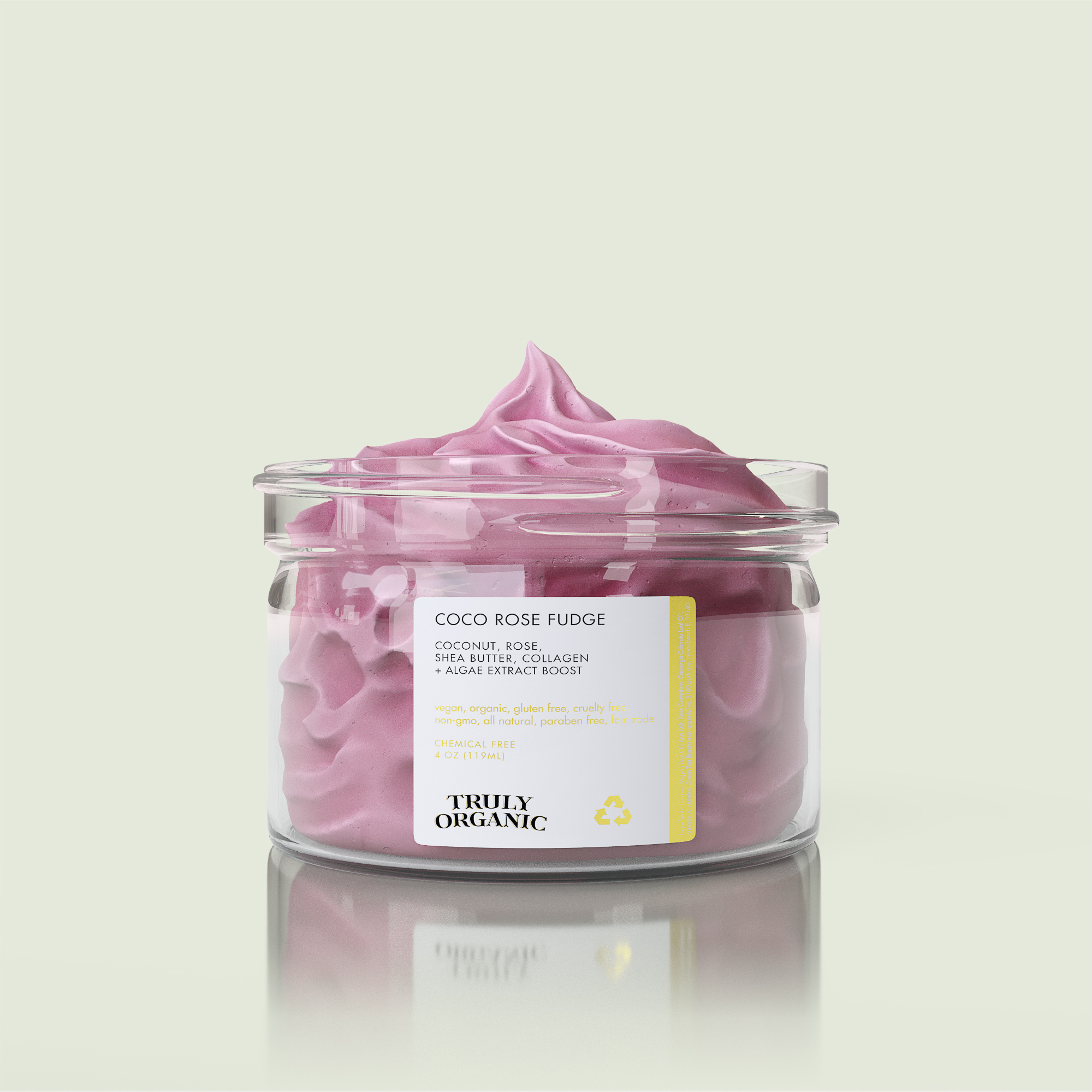 Truly Organic - Coco Rose Fudge Body Butter