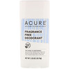 Acure - Acure, Deodorant, Fragrance Free, 2.25 oz (63.78 g)