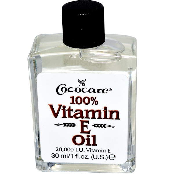Cococare - Cococare, 100% Vitamin E Oil, 28,000 IU, 1 fl oz (30 ml)