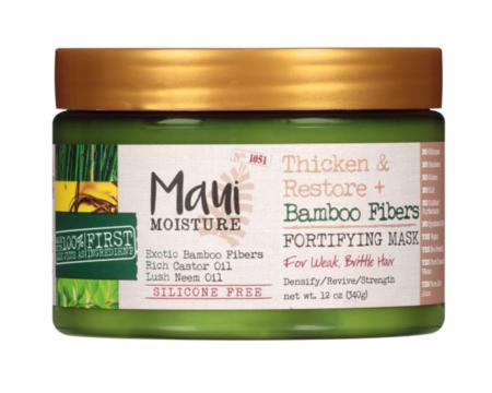 Maui Moisture - Maui Moisture Thicken & Restore Bamboo Fibers Fortifying Mask 12oz