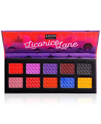 NYX - Licorice Lane Shadow Palette