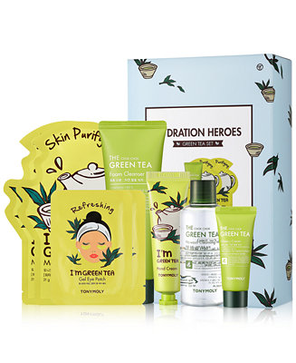 Tonymoly - 8-Pc. Hydration Heroes Green Tea Set