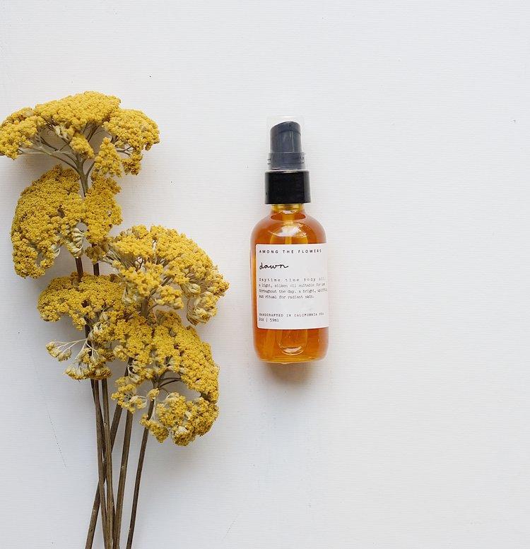 amongtheflowers.com - Dawn   Body Oil