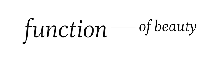 Function of Beauty's logo