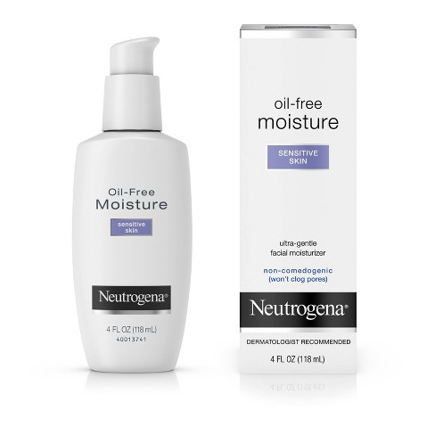 Neutrogena - Neutrogena Oil-Free Daily Sensitive Skin Face Moisturizer - 4 fl oz