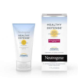 Neutrogena - Healthy Defense Daily Face Moisturizer -SPF 50