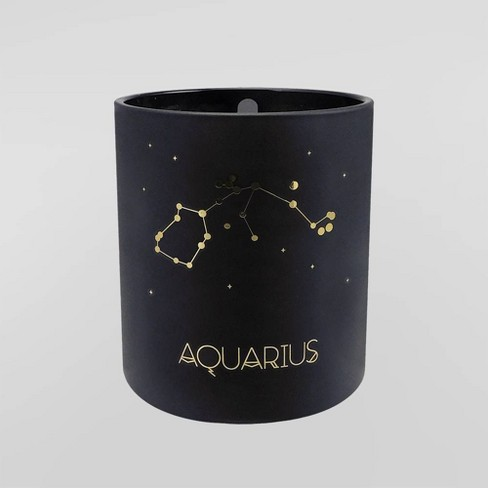 Target 7.8oz Astrological Glass Jar Candle Aquarius - Project 62™