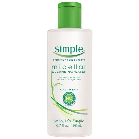 target.com - Unscented Simple Micellar Cleansing Water - 6.7oz