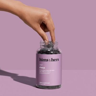 Target - hims & hers Sleep Gummies - Melatonin - Pomegranate Berry Flavor