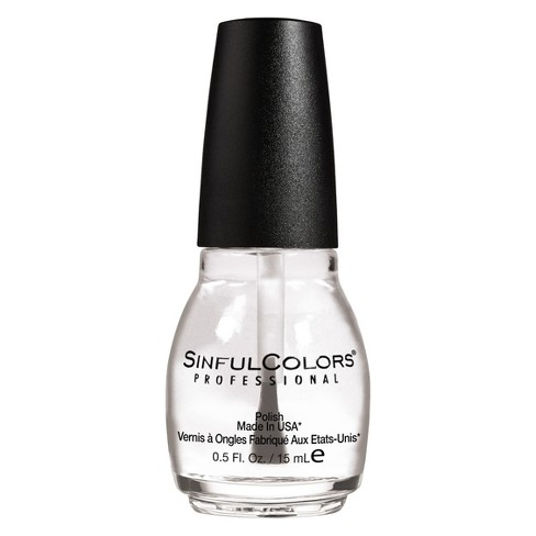 Sinful Colors - Sinful Colors Nail Polish - Clear Coat - 0.5 fl oz