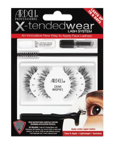 Ardell Shop - Ardell, X-Tended Wear, Demi Wispies, Complete Kit