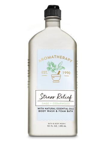 Aromatherapy Sage Cedarwood Body Wash & Foam Bath