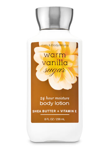 Bath & Body Works - Signature Collection Warm Vanilla Sugar Super Smooth Body Lotion