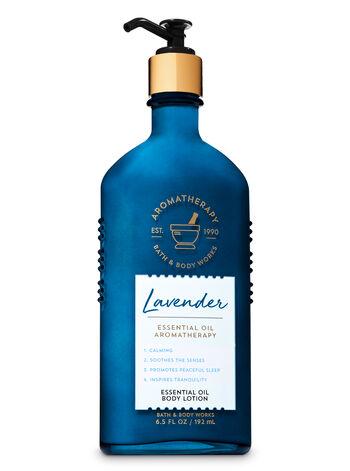 Bath & Body Works - Aromatherapy Lavender Essential Oil Body Lotion