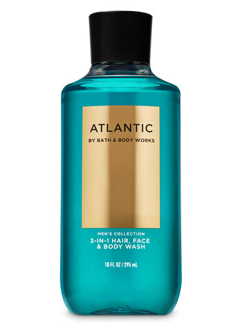 Bath & Body Works - Atlantic 3-in-1 Hair, Face & Body Wash