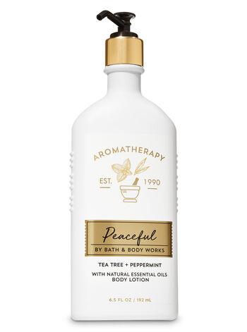 Bath & Body Works - Aromatherapy Tea Tree Peppermint Body Lotion