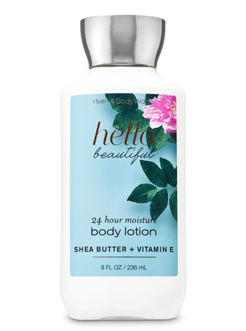 Bath & Body Works - Signature Collection Hello Beautiful Super Smooth Body Lotion