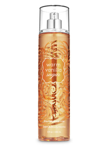 Bath & Body Works - Warm Vanilla Sugar Fine Fragrance Mist