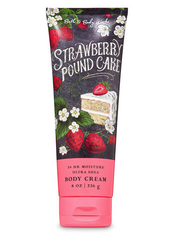 bathandbodyworks.com - Strawberry Pound Cake Ultra Shea Body Cream