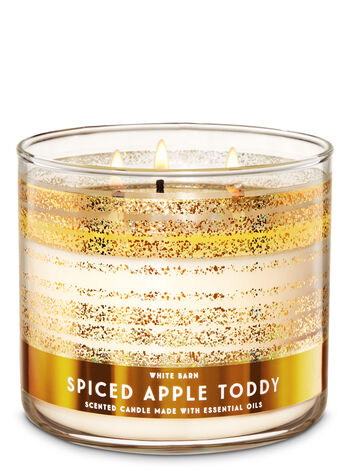 White Barn - Spiced Apple Toddy 3-Wick Candle