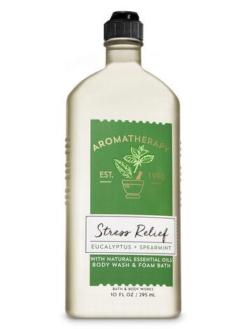 Bath & Body Works - Aromatherapy Eucalyptus Spearmint Body Wash & Foam Bath