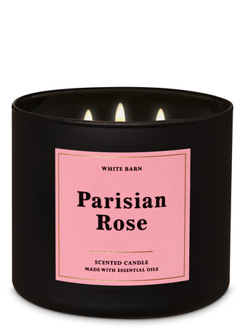 Bath and Body Works - Parisian Rose 3-Wick Candle