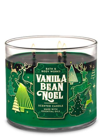 Bath & Body Works - Vanilla Bean Noel 3-Wick Candle