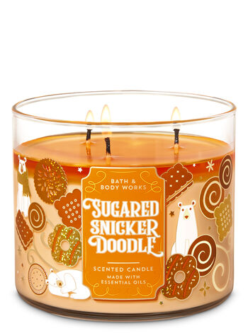 Bath & Body Works - Sugared Snickerdoodle 3-Wick Candle