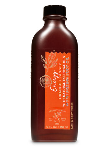 Bath & Body Works - Aromatherapy Orange Ginger Moisturizing Body Oil