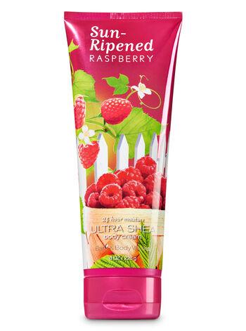 Bath & Body Works - Signature Collection Sun-Ripened Raspberry Ultra Shea Body Cream