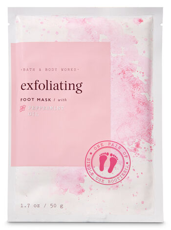 Bath and Body Works - Exfoliating with Peppermint Oil Foot Mask