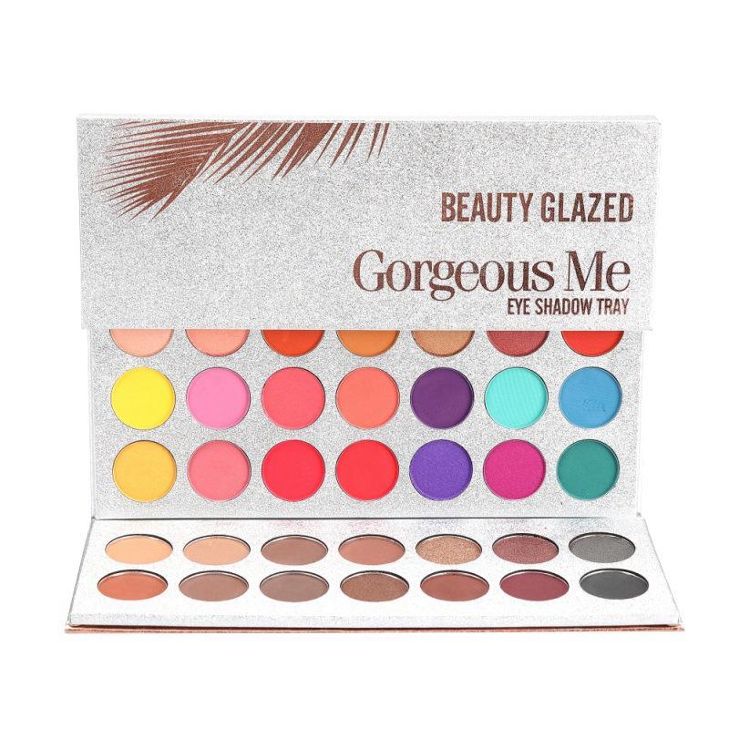 beautyglazedcosmetics.com - Gorgeous Me Eye Shadow Tray Palette