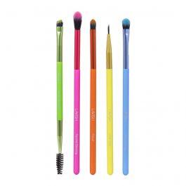 Boxycharm - Lavish - 5 PC Neon Eye Brush Collection