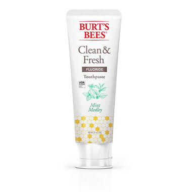 burtsbees.com - Clean & Fresh Mint Medley     Toothpaste with Fluoride