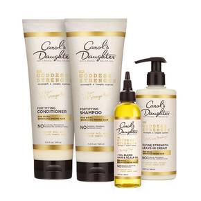 Carol'S Daughter WEB EXCLUSIVE! Goddess Strength Shampoo, Conditioner, Leave-In and Hair Oil