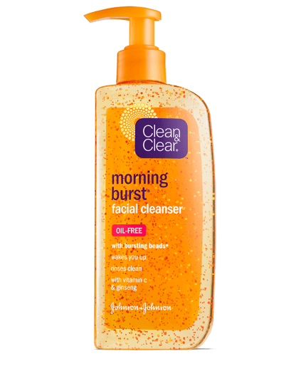 Clean and Clear - Morning Burst Facial Cleanser