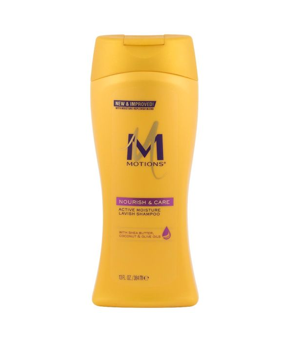 Motions - MOTIONS NOURISH & CARE ACTIVE MOISTURE LAVISH SHAMPOO 13 oz