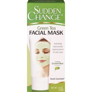 Sudden Change - Sudden Change Green Tea Facial Mask, 3.4 OZ