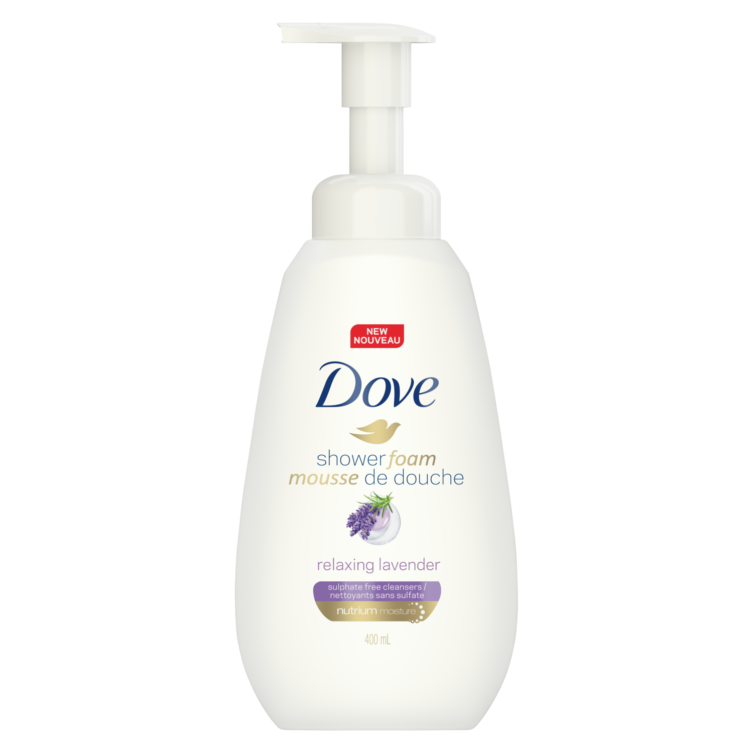 dove.com - Purely Pampering Relaxing Lavender Shower Foam