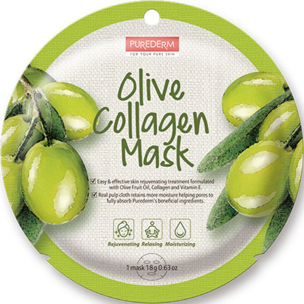Purederm - Purederm máscara de colágeno con aceite de oliva