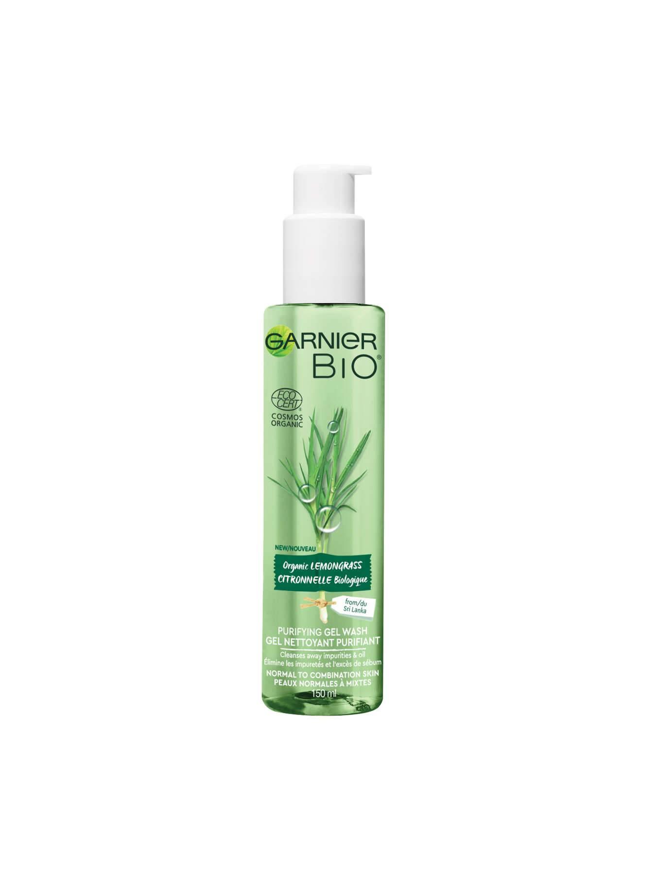 Garnier BIO - Organic Lemongrass Gel Wash For Normal To Combination Skin