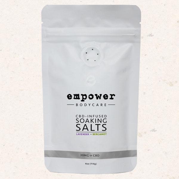 greenwellnesslife - Empower CBD Soaking Salts (15mg CBD per 4oz)
