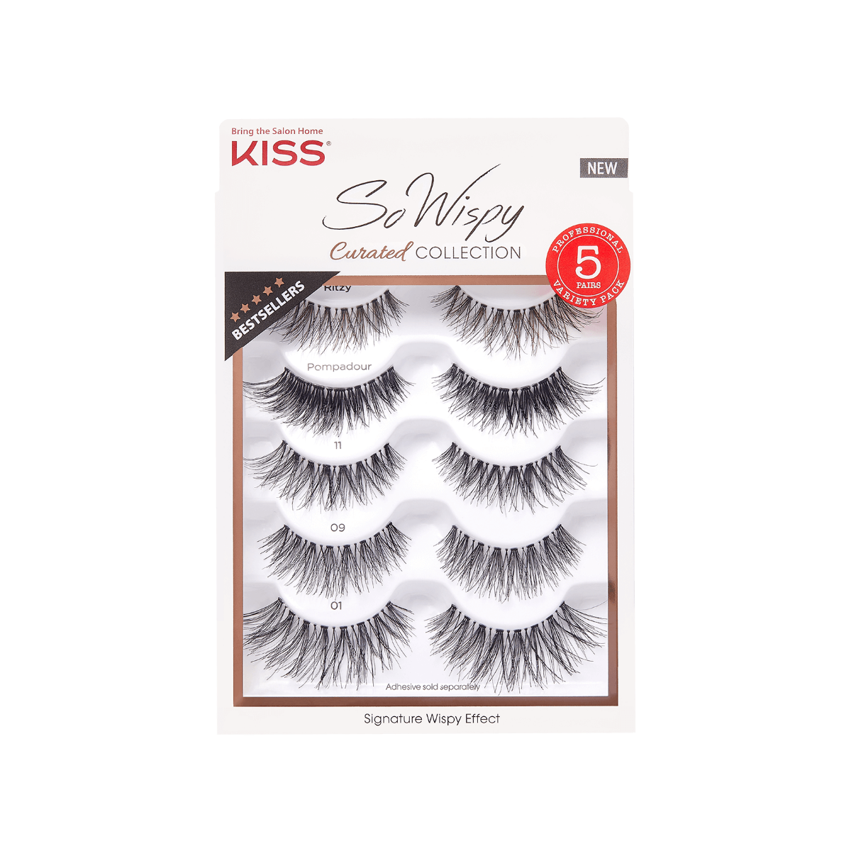 New! - KISS Curated Lash Collection