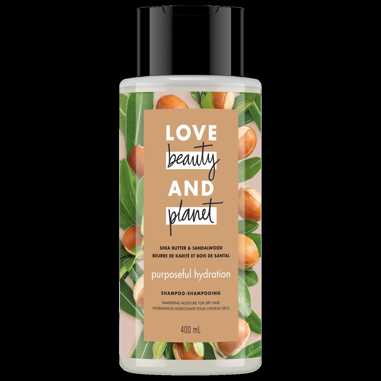 lovebeautyandplanet.com - Shea Butter & Sandalwood Shampoo