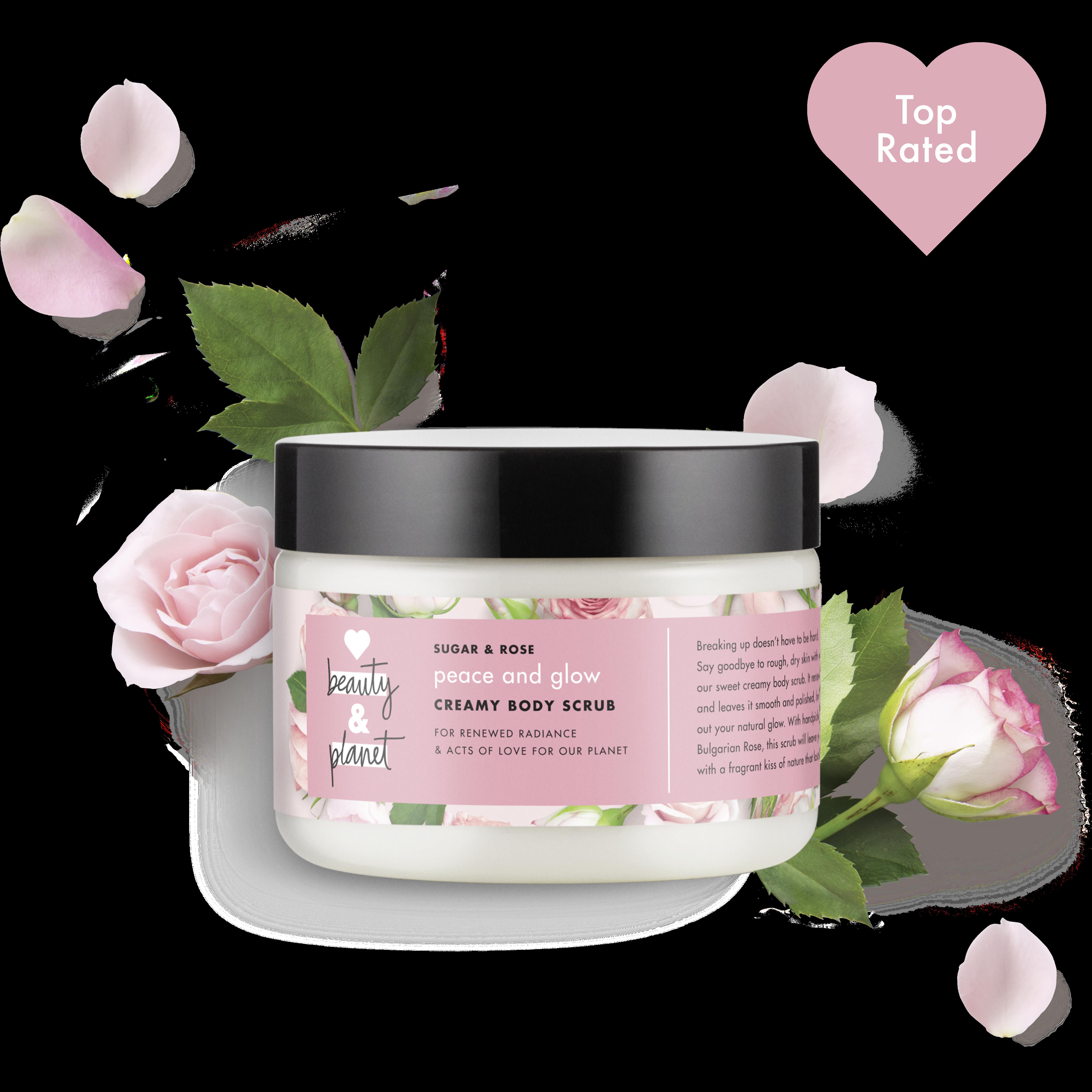Whitelabel UK - sugar & rose creamy body scrub